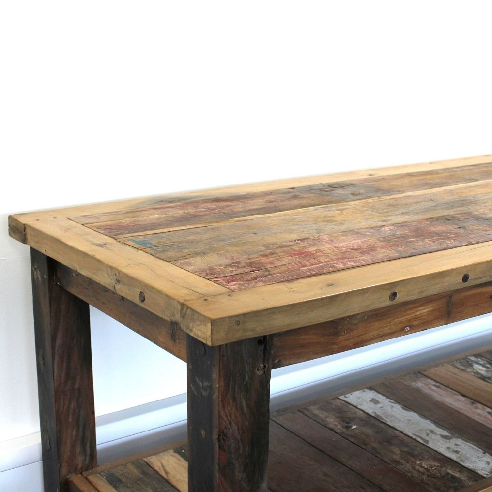 Recycled Teakwood Dining Table 1.8 m