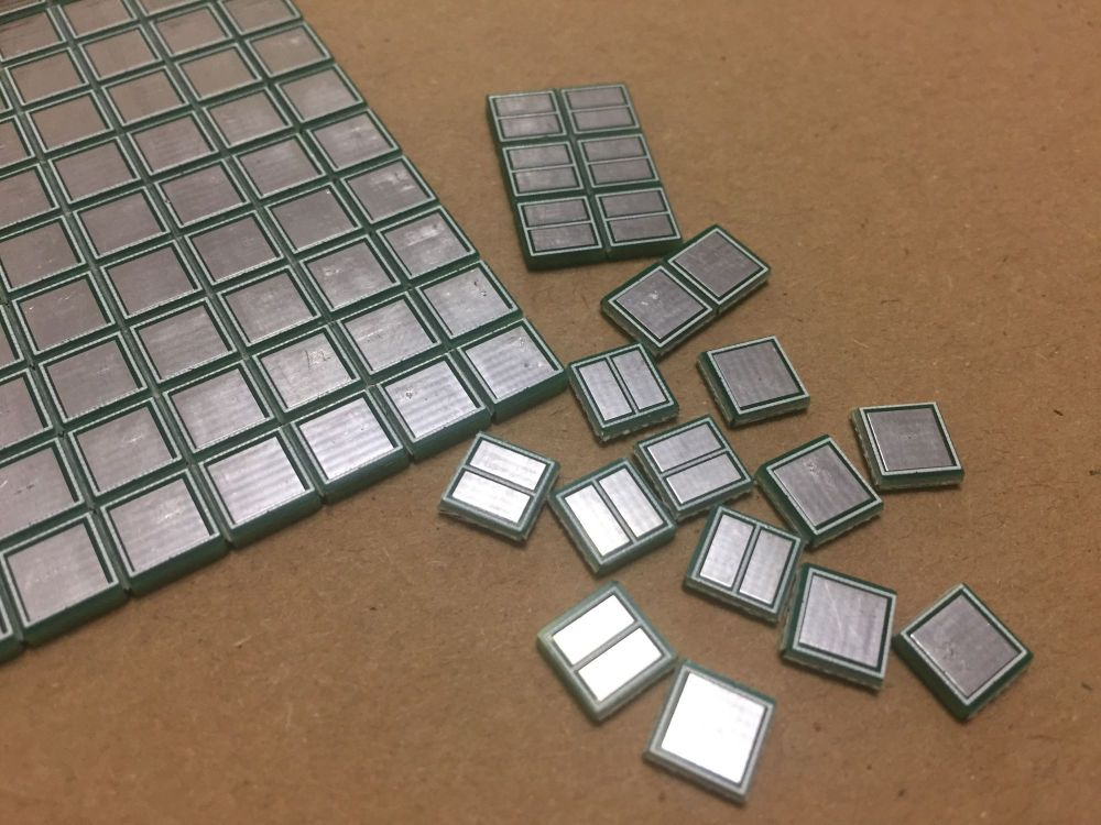 Manhattan Style Solder Pads (sheet of 150 Double Sided Pads)