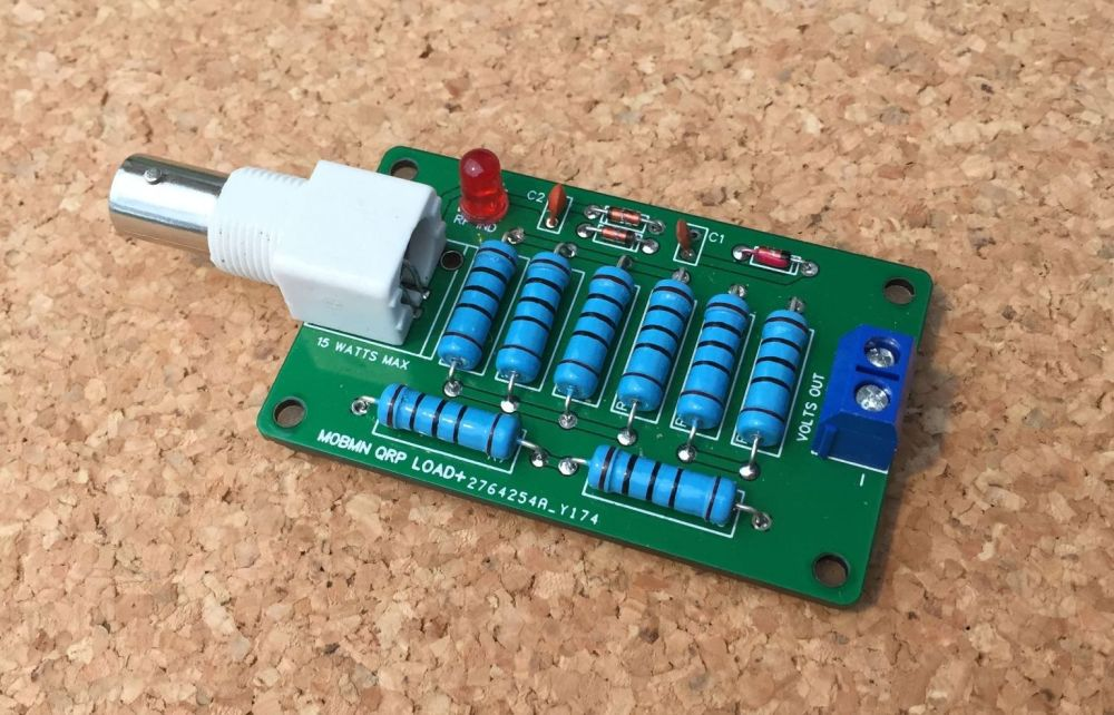 QRP dummy load and Power Checker