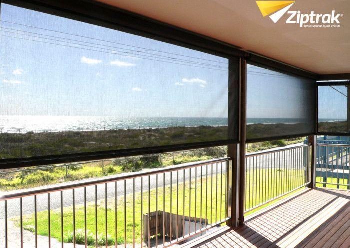 Ziptrak Veranda Blinds Perth, Rockingham, Mandurah and Bunbury