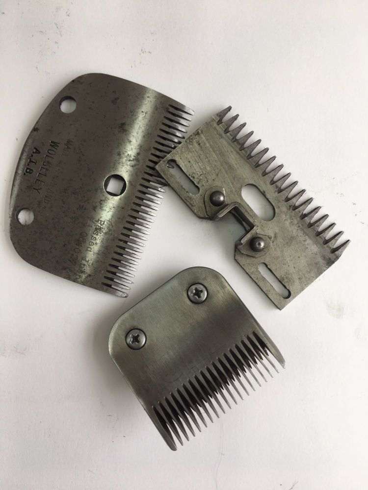 All types of Horse and Dog Clipper Blades A5 & A2 -  Oster, Aesculap, Andis