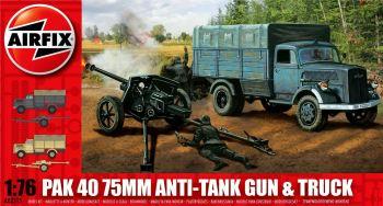 Airfix A02315   PaK 40 75mm Anti-Tank Gun & Truck