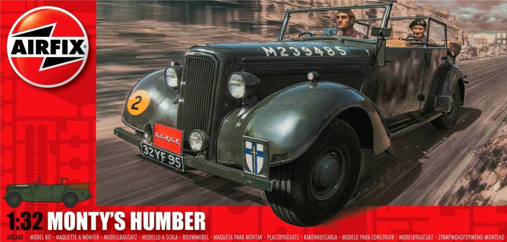 Airfix A05360  Monty's Humber Snipe Staff Car 1:32