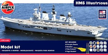 Airfix A50059    HMS Illustrious Gift Set 1:350
