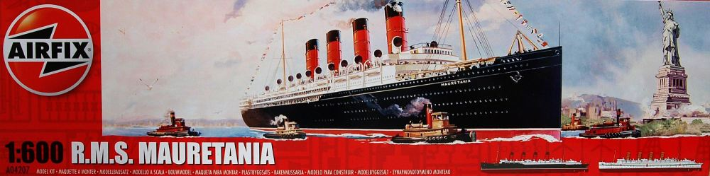 Airfix A04207    RMS Mauretania 1:600