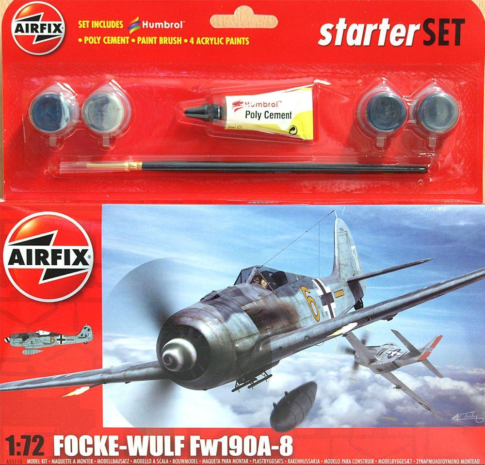 Airfix A55110    Focke Wulf 190A-8 Starter Set