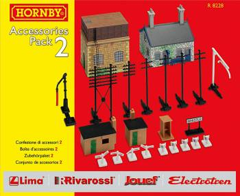 Hornby R8228    TrakMat Accessories Pack 2