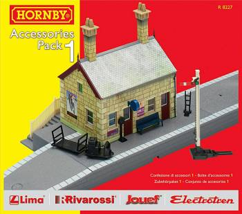 Hornby R8227   TrakMat Accessories Pack 1