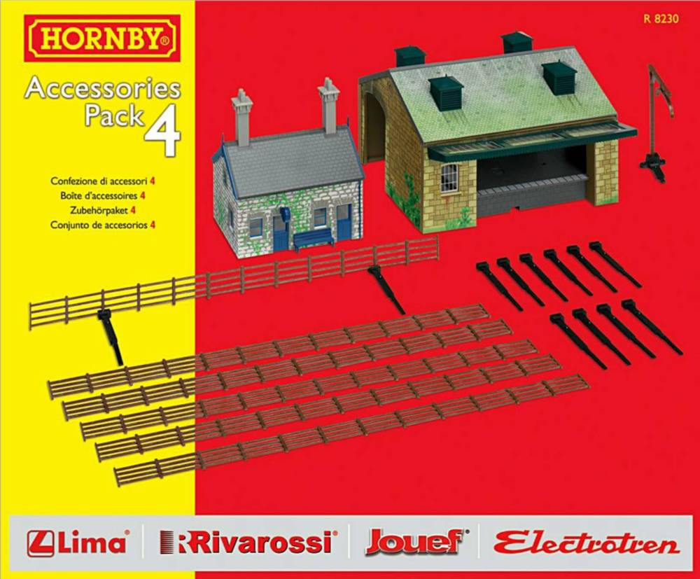 Hornby R8230    TrakMat Accessories Pack 4