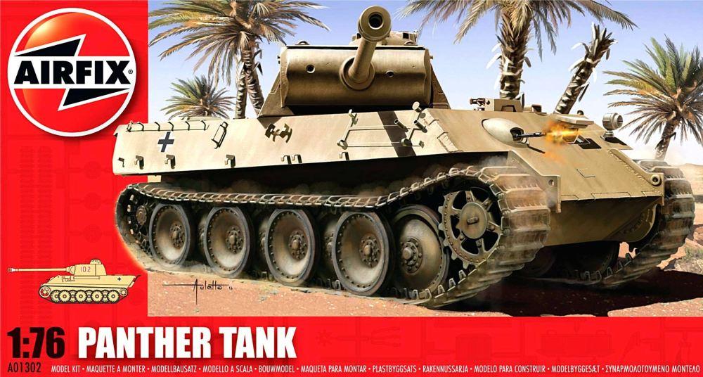Airfix A01302   Panther Tank 1:76