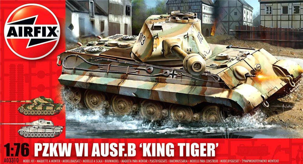 Airfix A03310   Pzkw VI Ausf.B 'King Tiger' Tank 1:76
