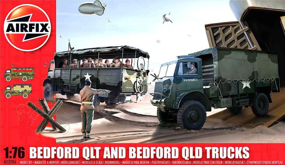 Airfix A03306   Bedford QLT and Bedford QLD Trucks 1:76