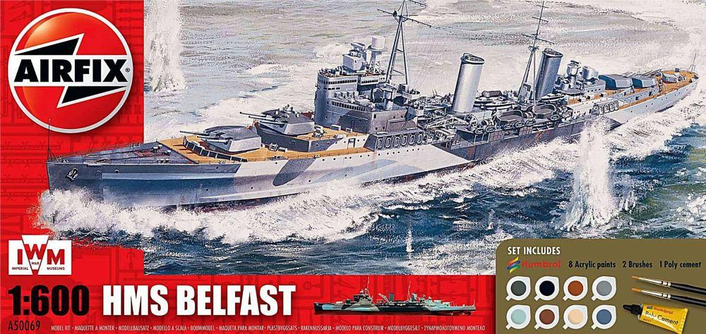 Airfix A50069   HMS Belfast Gift Set 1:600