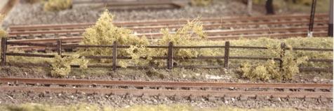 217  Wood lineside fencing