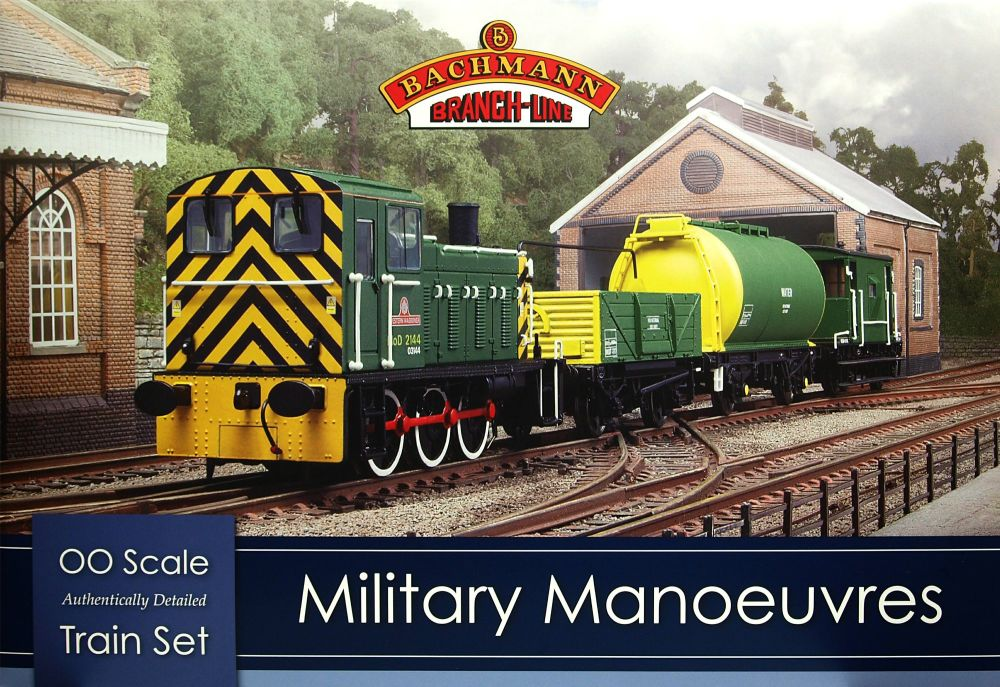 Bachmann 30-130 Military Manoeuvres