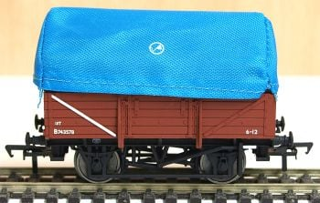 Bachmann 33086   BR  tent hooded China clay wagon