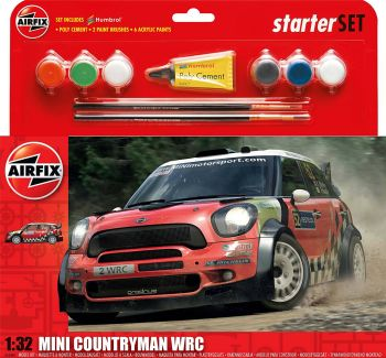 Airfix A55304  MINI Countryman WRC Starter Set 1:32