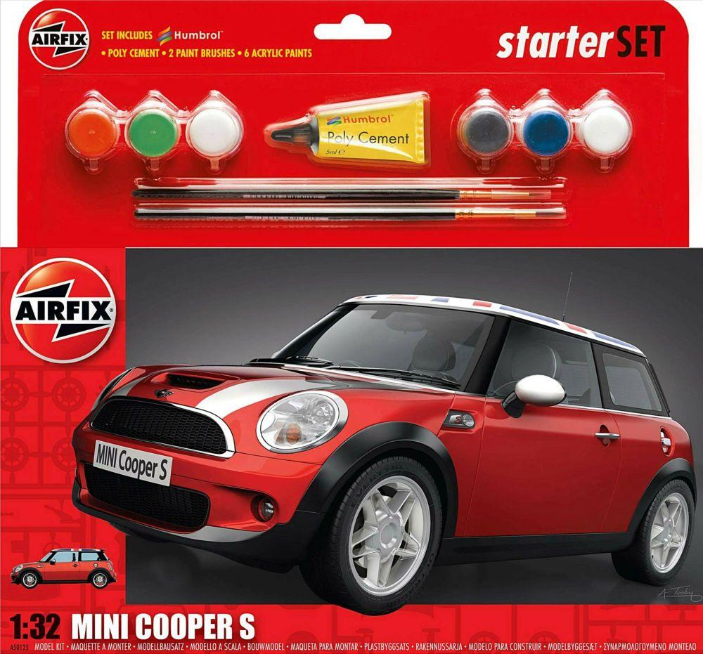 Airfix A50125  MINI Cooper S Starter Set 1:32