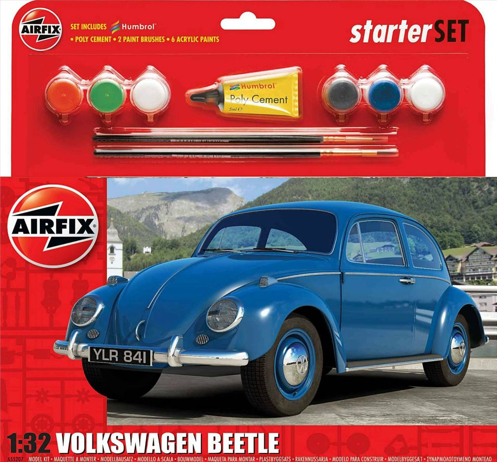 Airfix A55207   VW Beetle Starter Set 1:32