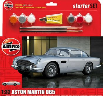 Airfix A50089A   Aston Martin DB5 Starter Set 1:32
