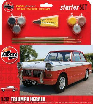 Airfix A55201  Triumph Herald Starter Set 1:32