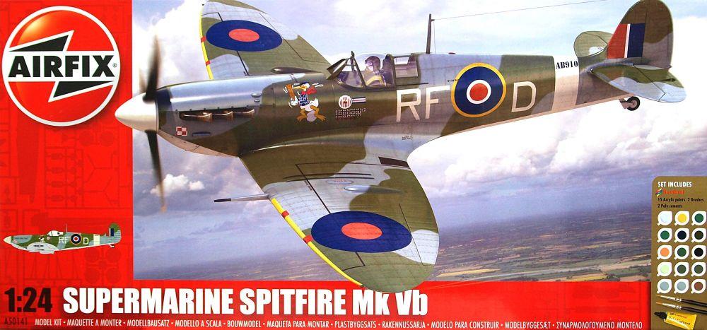 Airfix A50141  Spitfire MKVB 1:24 Gift Set