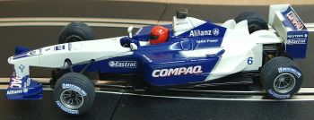 "Scalextric 6096  Williams F1 ""Juan Pablo Montoya"" 1:32"