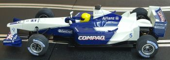 "Scalextric 6095  Williams F1 ""Ralf Schumacher"" 1:32"