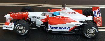 "Scalextric C2455A  Toyota TF102 F1 ""Mika Salo"" 1:32"