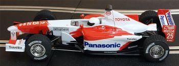 "Scalextric C2456A  Toyota TF102 F1 ""Allan McNish"" 1:32"