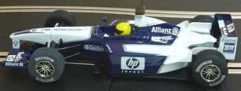 "Scalextric C2417  Williams BMW F1 ""Ralf Schumacher"" 1:32"