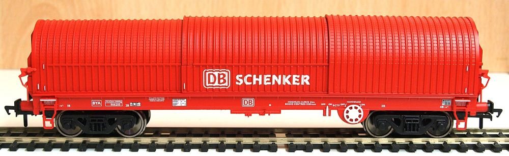 Bachmann 37629   102 Tonne Thrall BRA Steel Strip Carrier 'DB Schenker' 	£