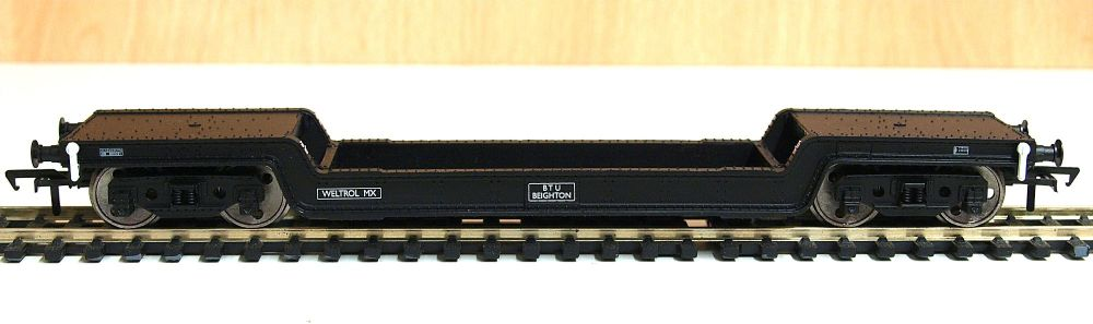 Bachmann 33-902 	 Bogie Well Wagon BR Departmental Black
