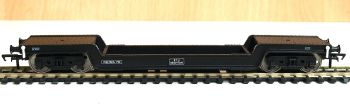 Bachmann 33902 	 Bogie Well Wagon BR Departmental Black