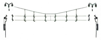 Vollmer 41310  Cross span & accessories