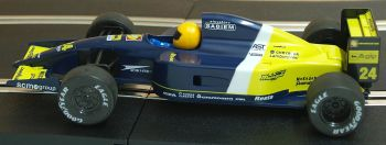 "Scalextric C184  Minardi F1 No 24 ""Michele Alboreto"" 1:32"