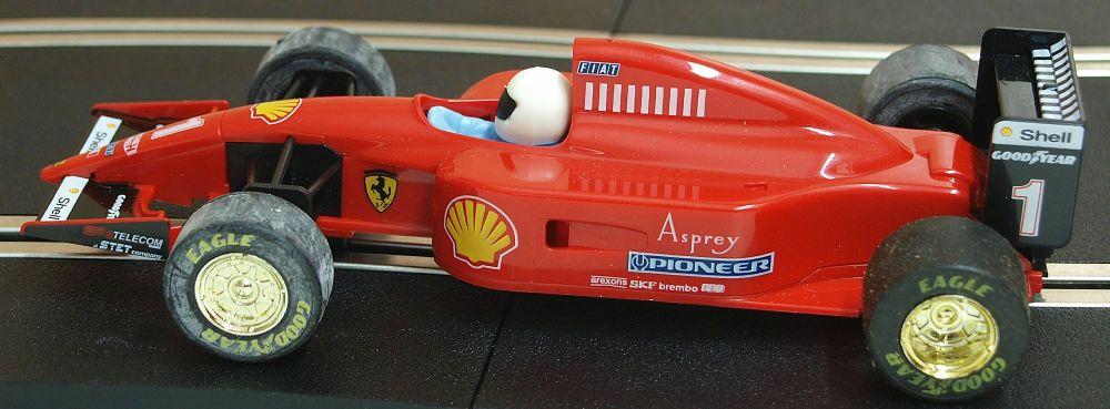 Scalextric C2011  Ferrari 643 No1