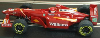 "Scalextric C2161  Williams FW20 F1 ""Jacques Villeneuve"" 1:32"