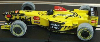 "Scalextric C2127  Jordan F1 Mugen-Honda No10 ""Ralf Schumacher"" 1:32"