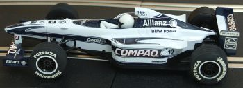 "Scalextric C2265  Williams BMW F1 ""Jenson Button"" 1:32"