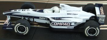 "Scalextric C2265WA  Williams BMW F1 ""Jenson Button"" No10 1:32"