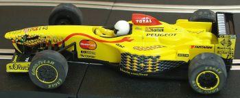 "Scalextric C2080  Jordan Peugeot 197 F1 No12 ""Giancarlo Fisichella"" 1:32"