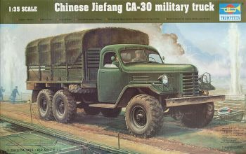 Trumpeter 01002  Jiefang CA-30 Chinese Army Truck