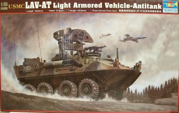 Trumpeter 00372  USMC LAV-AT Light Armoured Vehicle Anti-tank  1:35