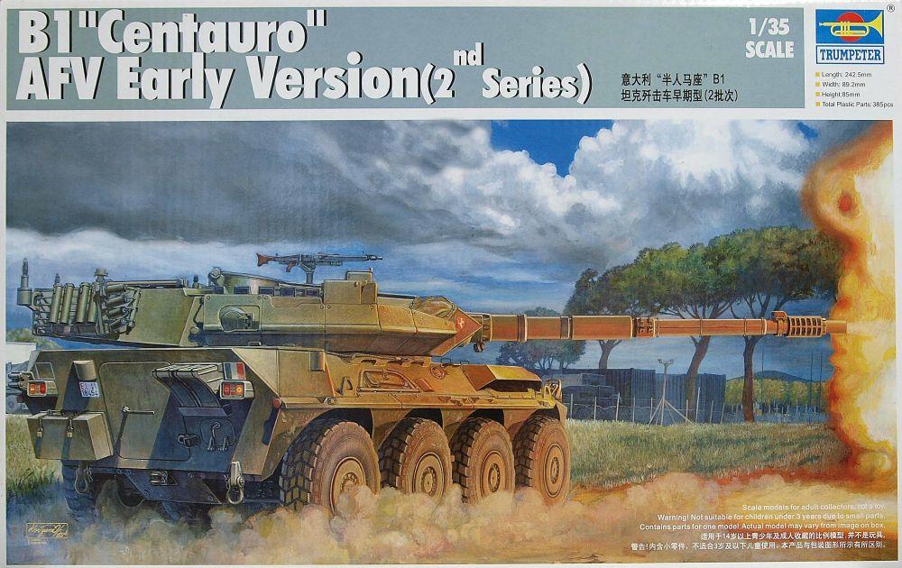 Trumpeter 00386  B1 Centauro Italian Tank Destroyer  1:35