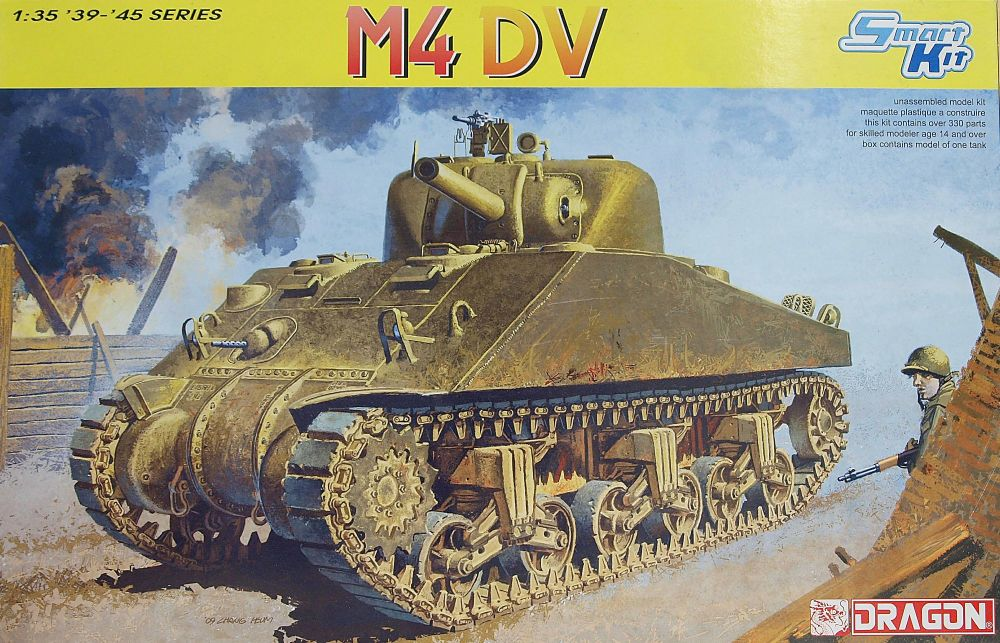 Dragon 6579  Sherman M4 DV 1:35 '39-'45 Series
