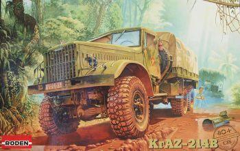 Roden 804   KrAZ-214B Russian Heavy Truck 1:35