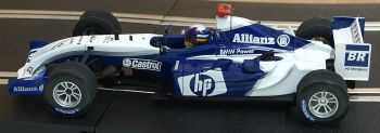 "Scalextric 6167  Williams F1 BMW FW 26 ""Juan Pablo Montoya"" 1:32"