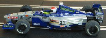 "SCX 60410  Minardi F1 ""Telefonica"" Marc Gene 1:32"
