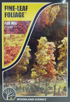 Woodland Scenics F1135  Fine-Leaf Foliage (Fall Mix)